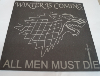 Game of Thrones slate platter