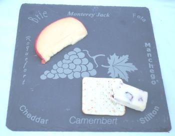 Slate Cheese Platter