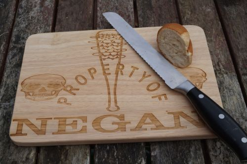 Walking Dead wooden Cheese Boards