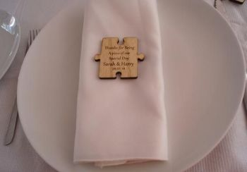 Wedding Favour place settings