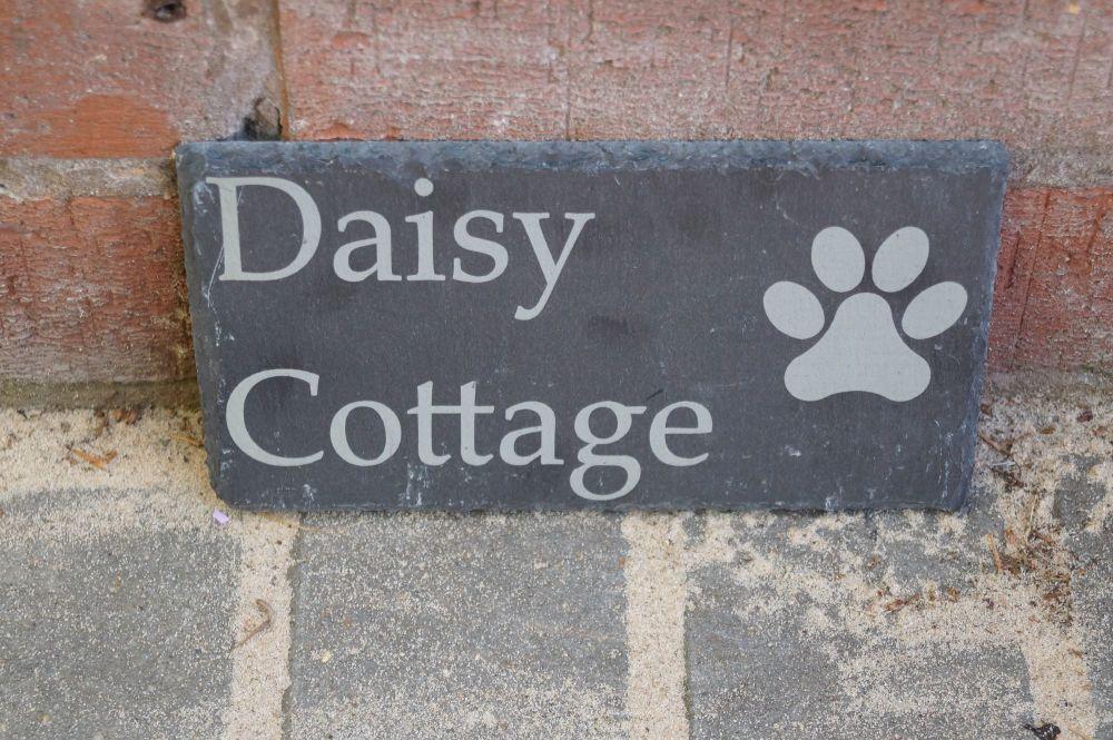 Slate House or Garden Signs