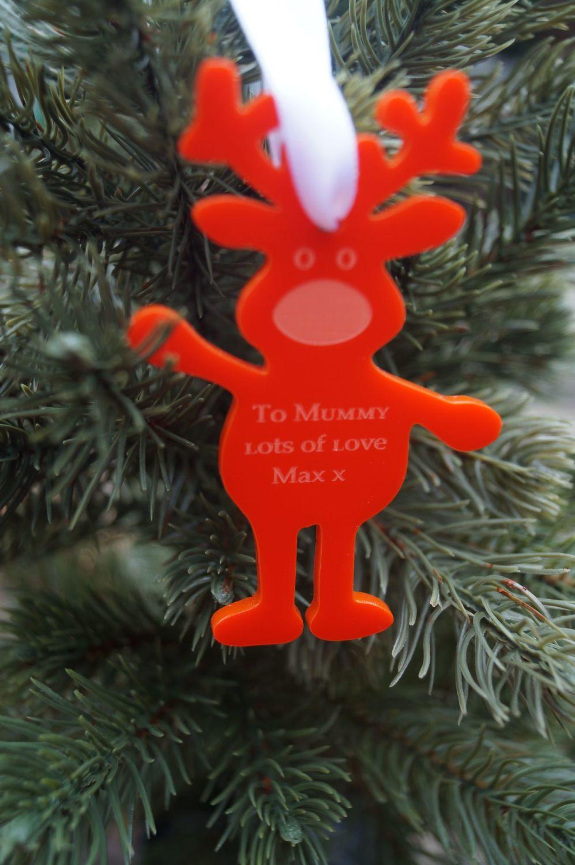 Santa's good list decoration, personalised decoration, Good list, Santas na