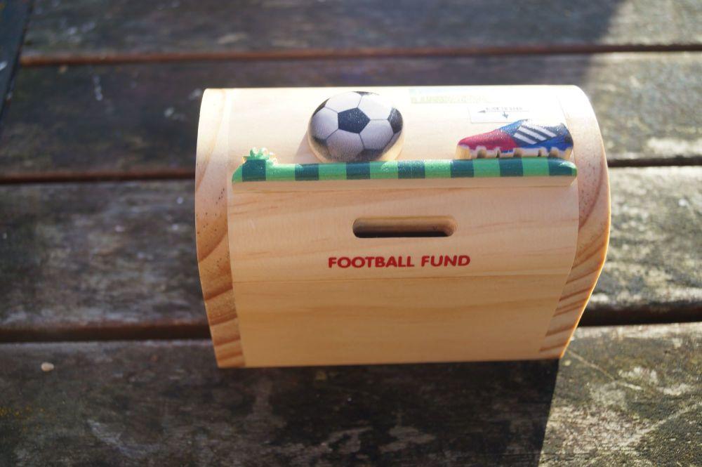 football fan moneybox