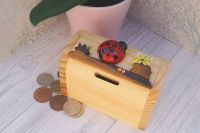 Ladybird money box