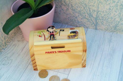 Pirate moneybox