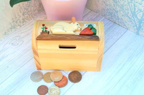 Rabbit moneybox