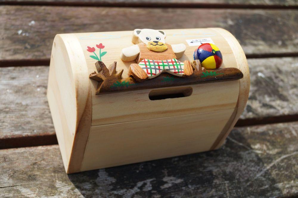 teddy bear moneybox