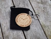 Time You Were Born Keyring
