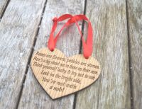 Valentines Plaque For Single Friend