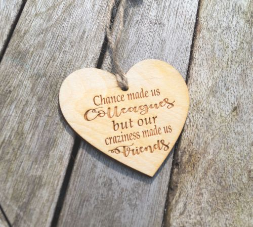 Your Message Here Wooden Plaque