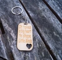 It Takes A Big Heart Keyring
