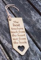 The Best Teachers Bookmark