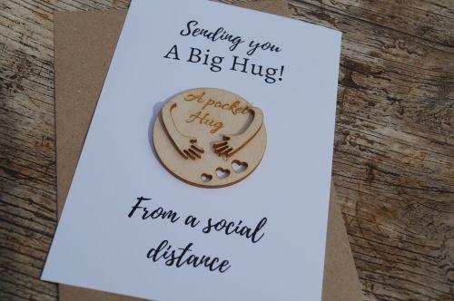 Isolation gift, pocket hug