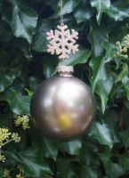Pewter bauble