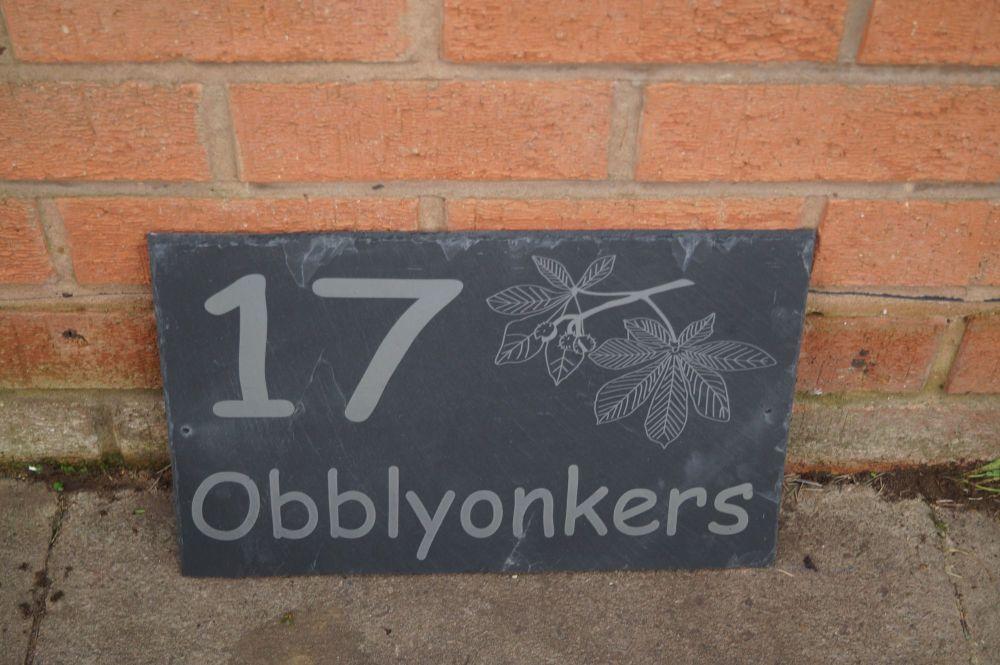 conker house plaque