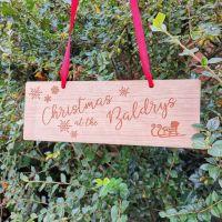 Family Christmas decoration