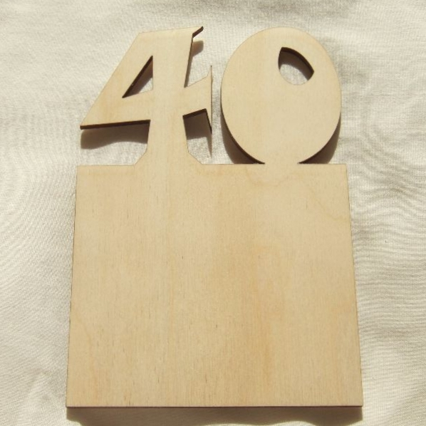 Wooden Birthday Cards