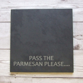 Slate cheeseboard 'Parmesan'