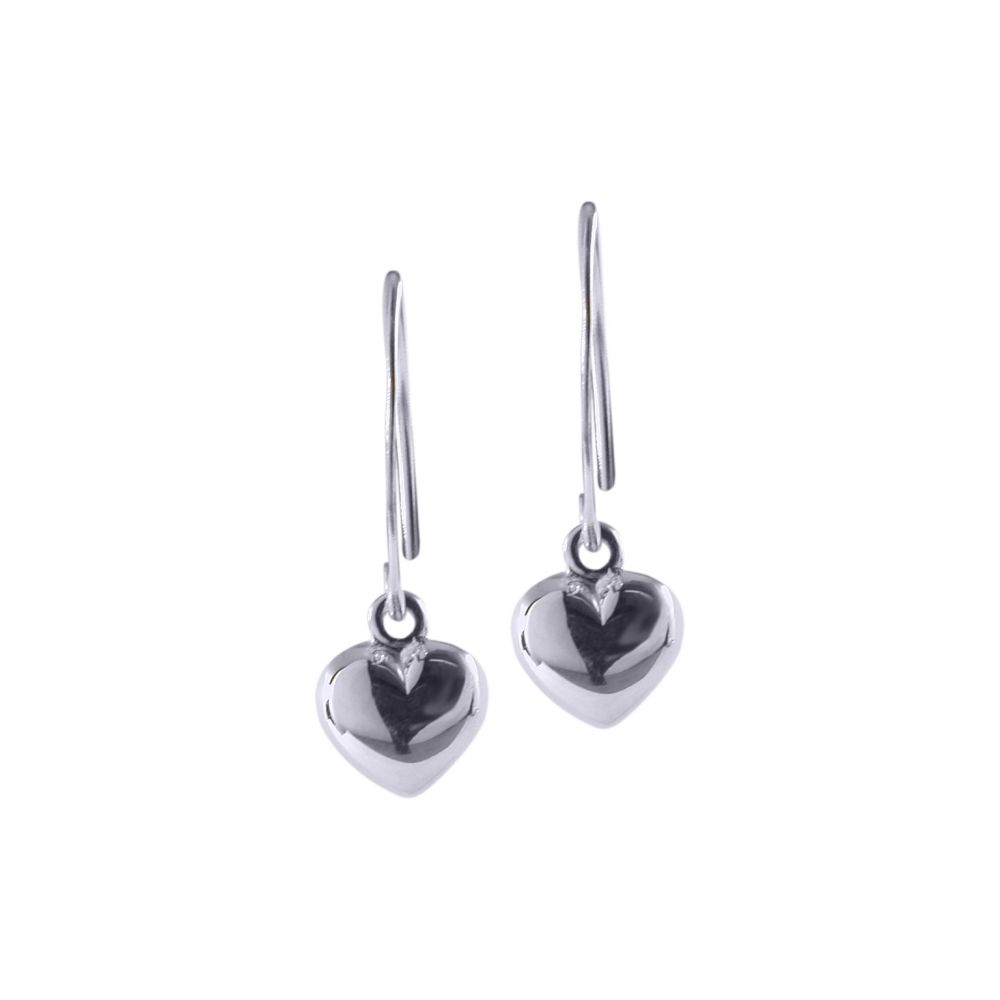 Puffy Heart Earrings by JUPP
