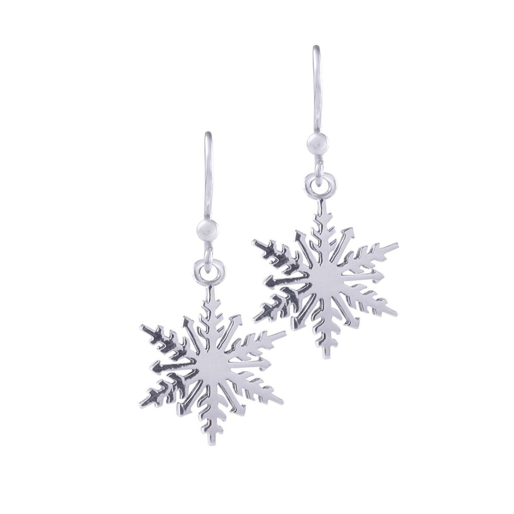 Snowflake Earrings by Jupp