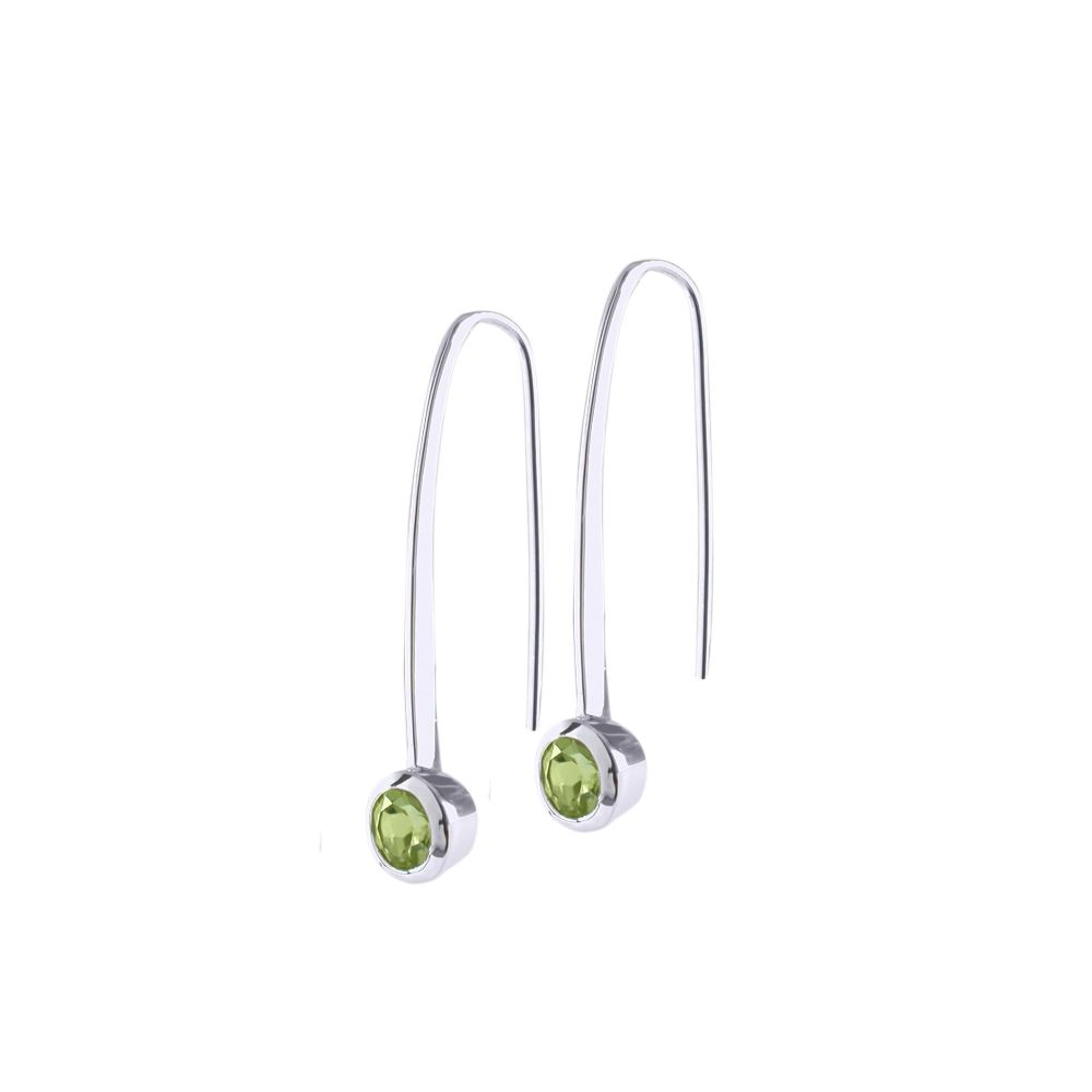Peridot Honesty Earrings by JUPP