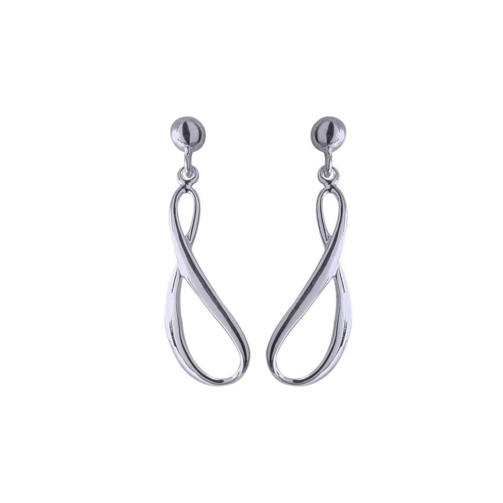 Silver Crescendo Earrings by Jupp