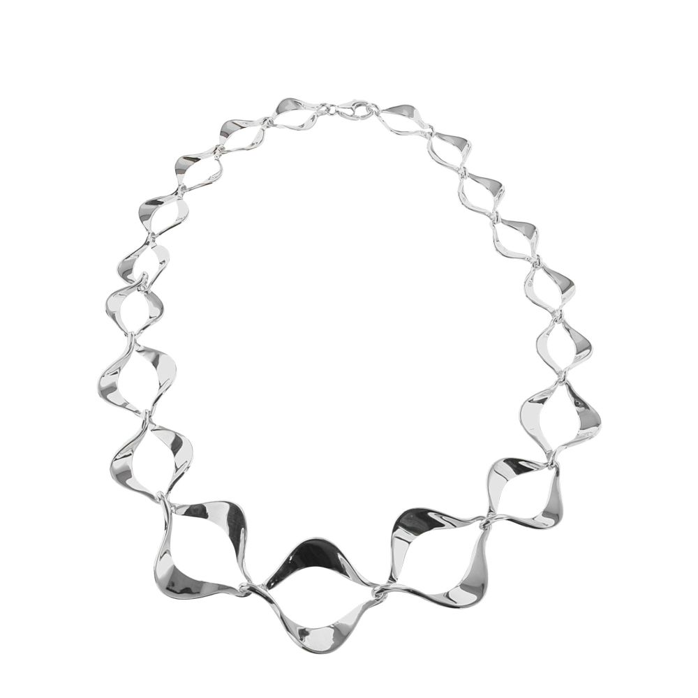 Silver Happiness Necklace by JUPP