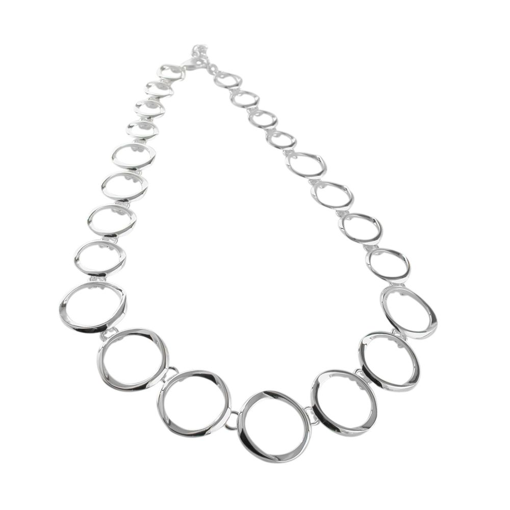 Silver Aura Necklace by JUPP