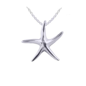 Starfish Pendant and Chain by JUPP