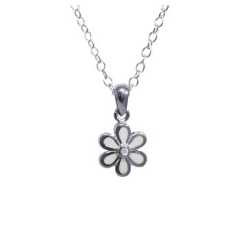 White Flower Pendant by JUPP