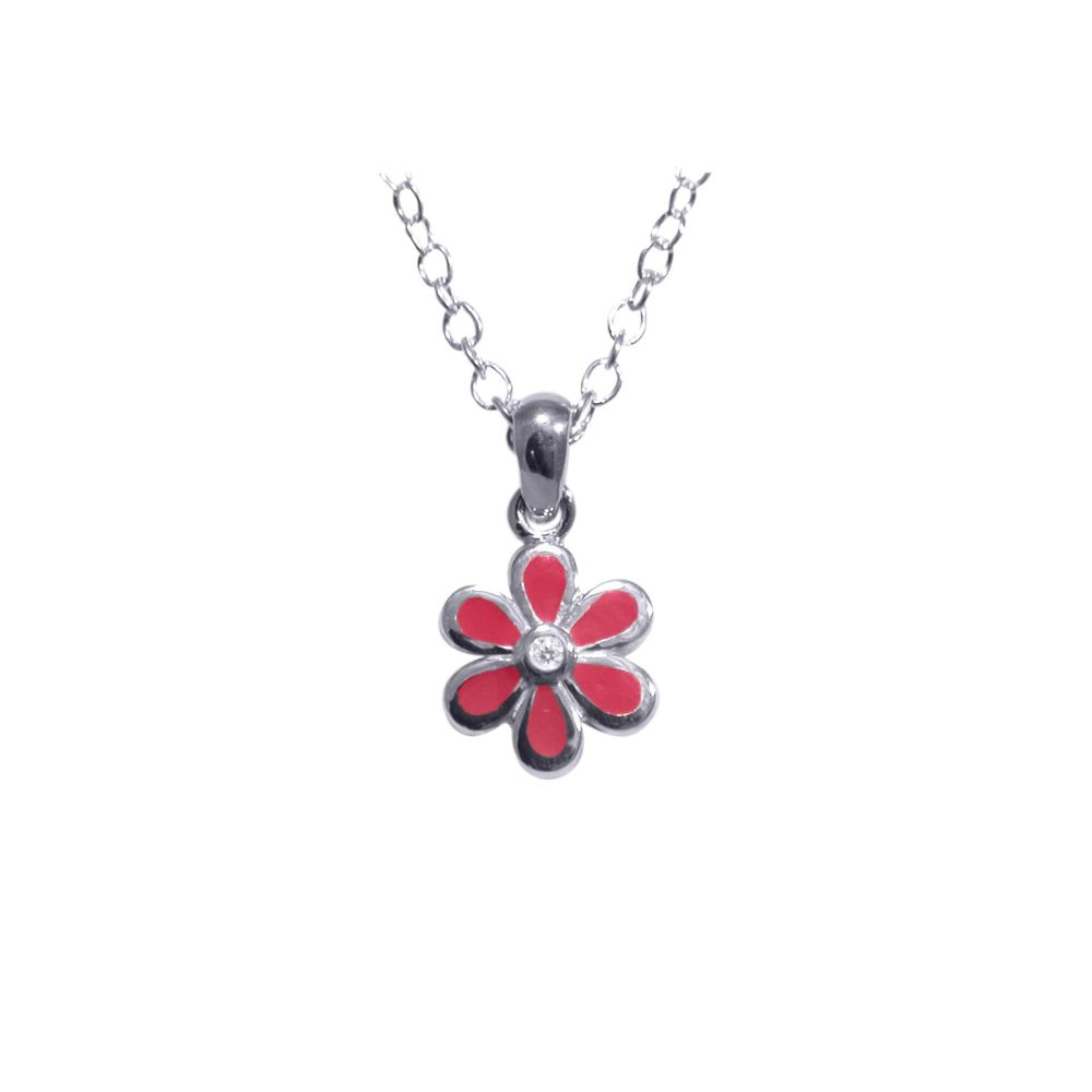 Pink Flower Pendant by JUPP