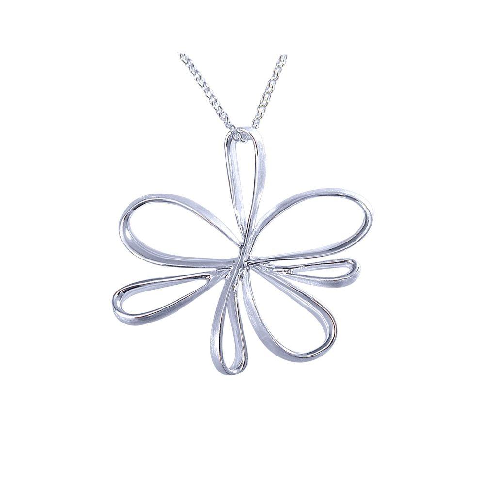 Silver Flutter Pendant by JUPP