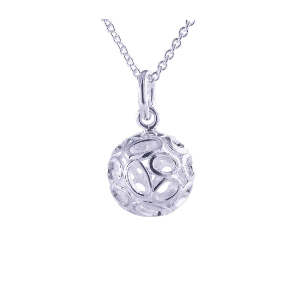 Silver Luna Pendant by JUPP