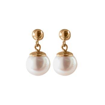 Cultured Freshwater Pearl Drop Earrings by JUPP
