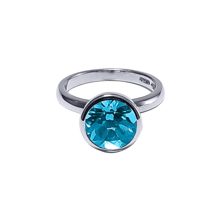 Blue Topaz Ring by JUPP