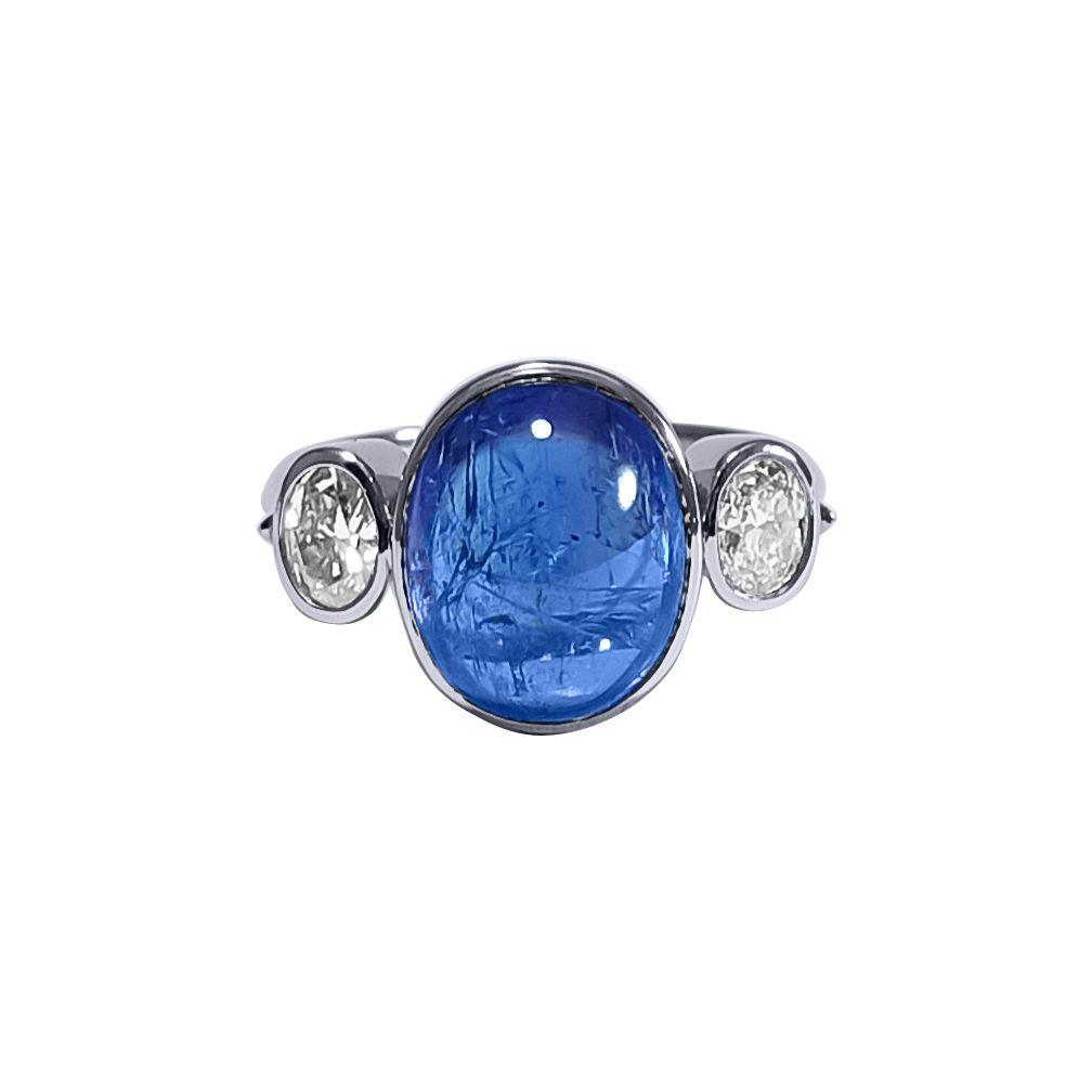 Tanzanite and Diamond Ring by JUPP