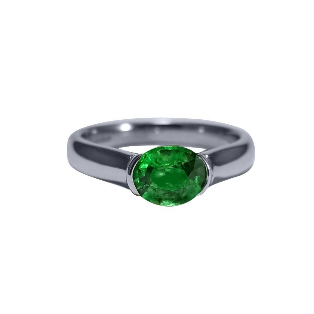 Tsavorite Garnet Ring by JUPP