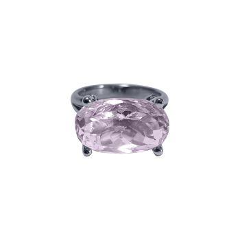 Kunzite & Diamond Ring by JUPP