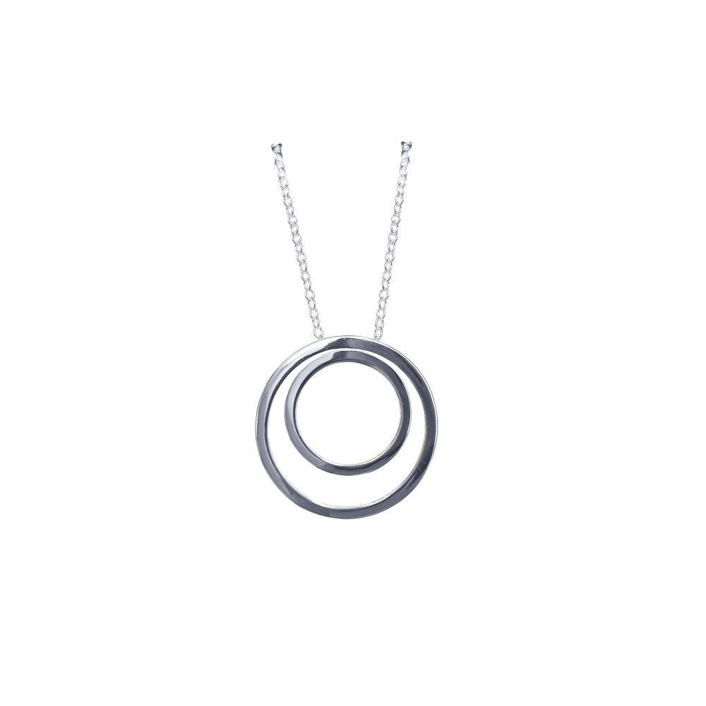 Double Ring Pendant by JUPP