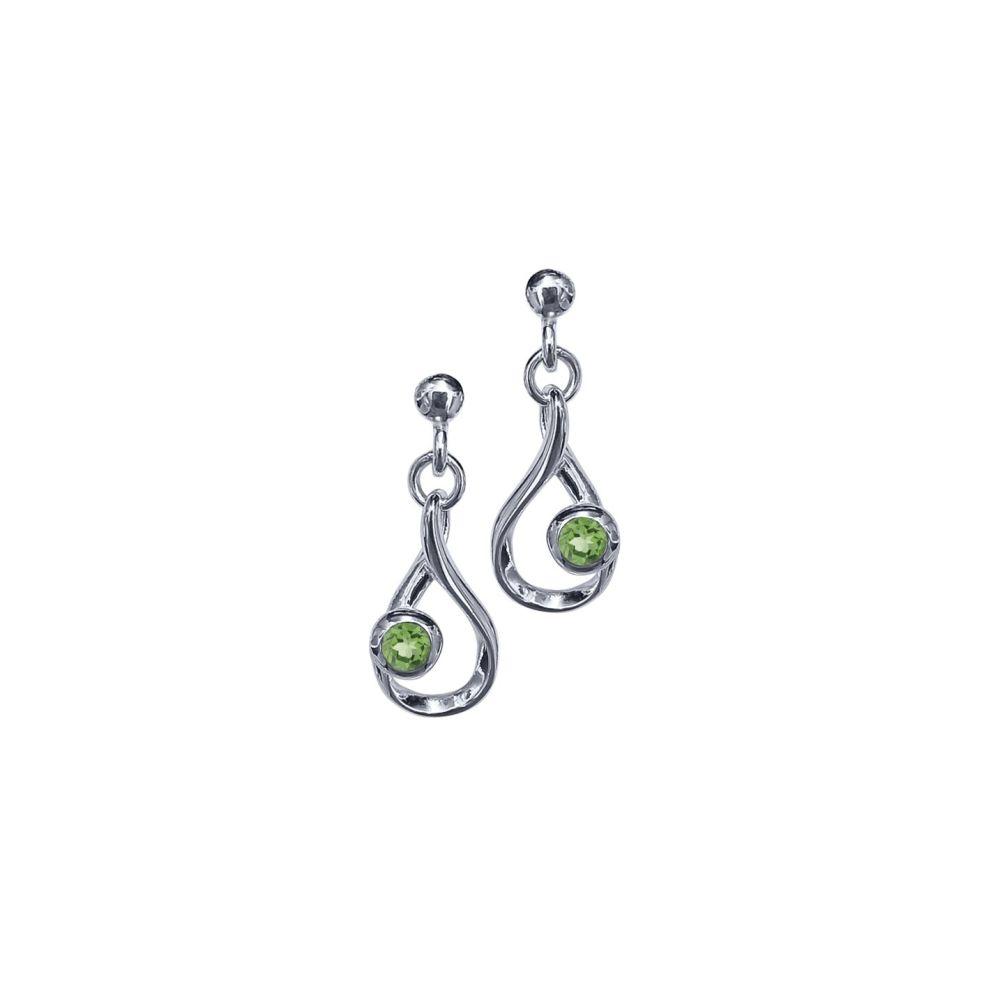 Peridot Crescendo Earrings by JUPP