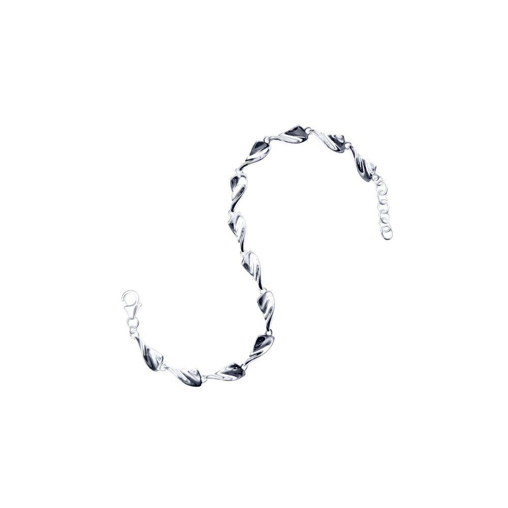 Triangle Twist Bracelet by Jupp