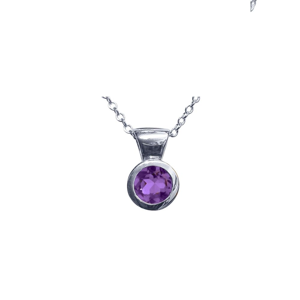 Amethyst Honesty Pendant by JUPP