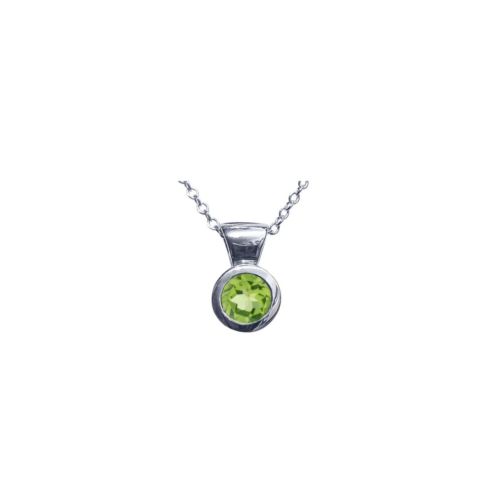 Peridot Honesty Pendant by JUPP