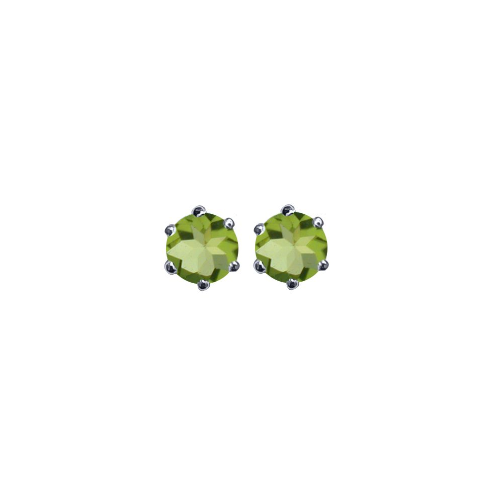 Peridot Ear Studs by JUPP