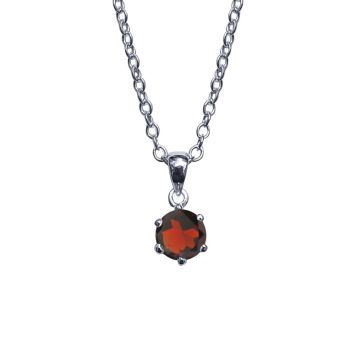 Garnet Necklace by JUPP