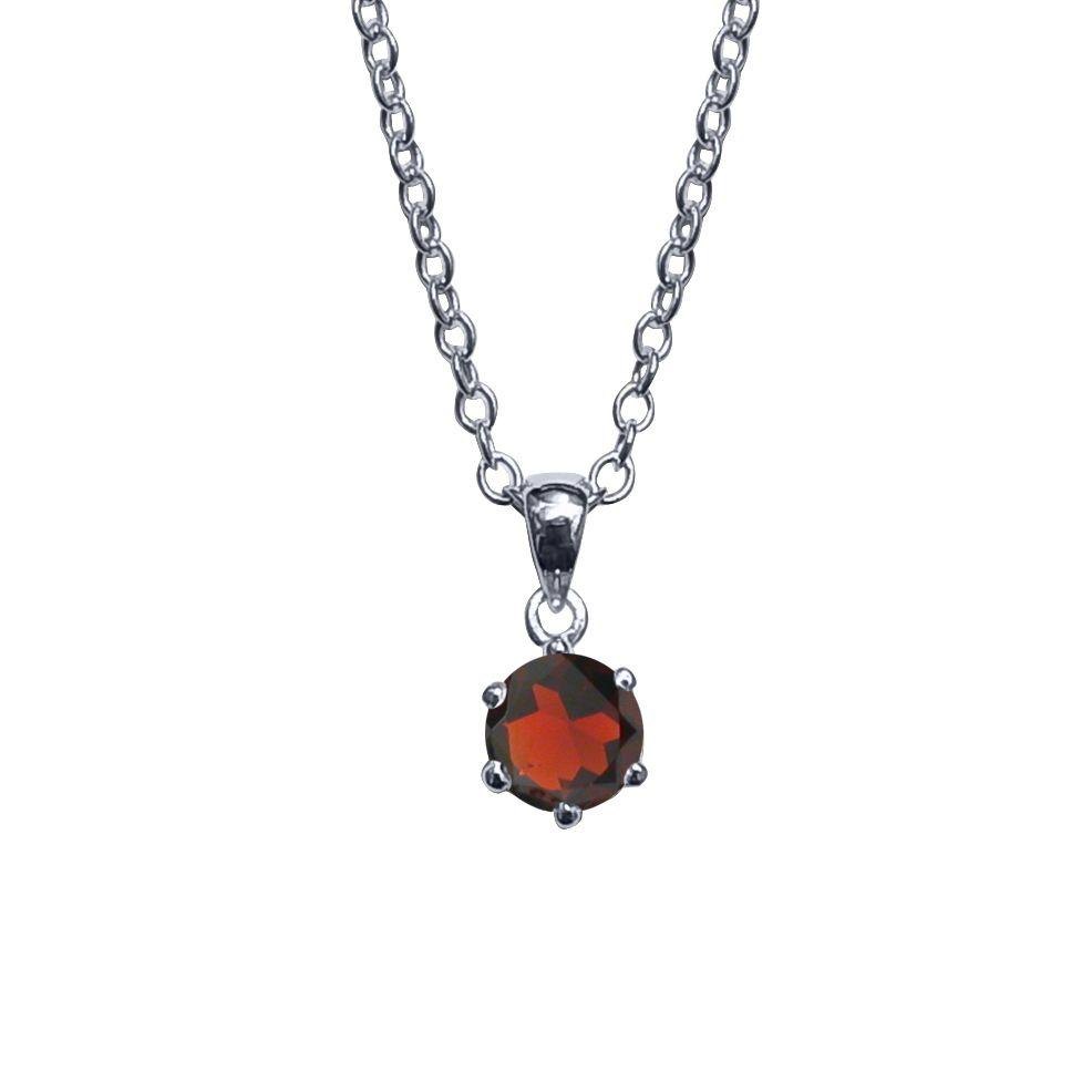 Garnet Necklace by JUPP