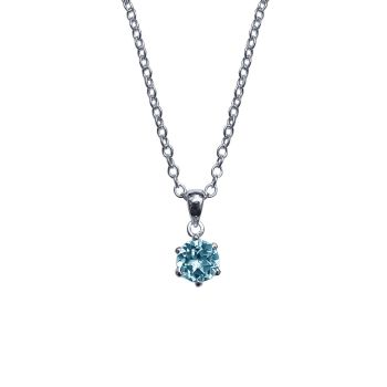 Blue Topaz Necklace by JUPP