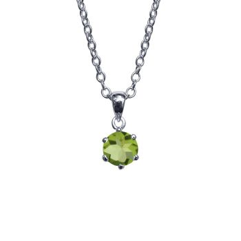 Peridot Necklace by JUPP