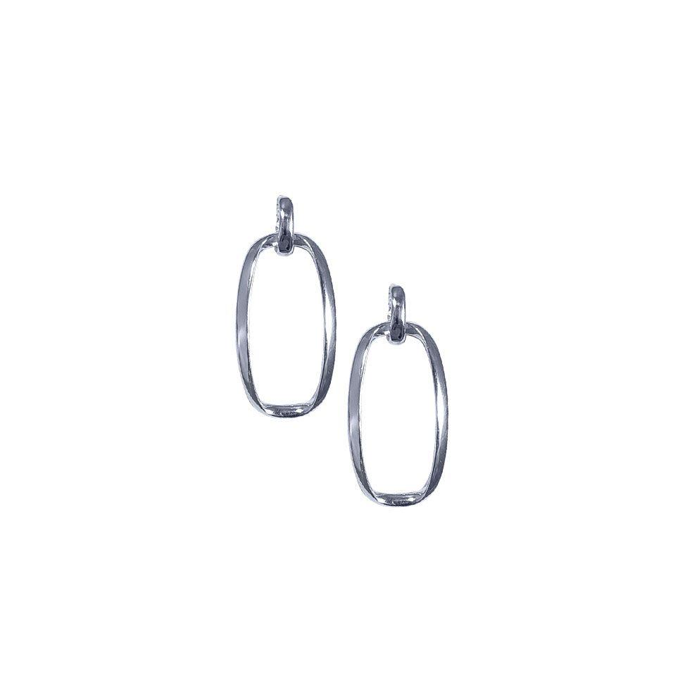 Oval Jive Earrings by Jupp