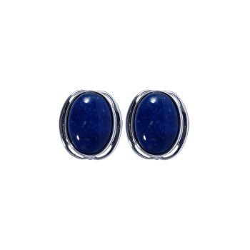Lapis Lazuli Ear Studs